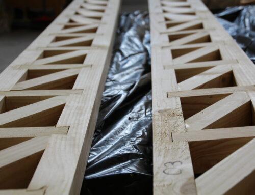 El futuro para las vigas en madera